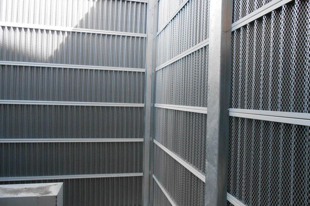 Barriere antirumore metalliche
