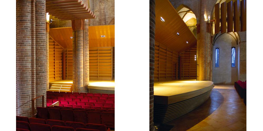 Teatri – Sale concerti – Auditorium – Sale prova